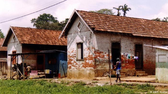 São Tomé e Príncipe Arbeiterunterkünfte der Roça Boa Entrada
