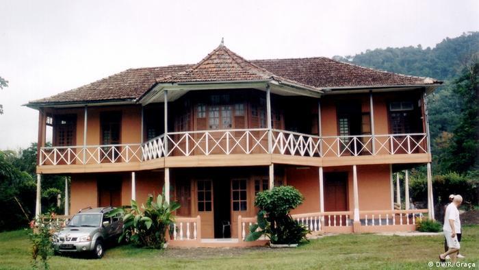 São Tomé e Príncipe Distrikt Mé-Zóchi Roça Bombaim