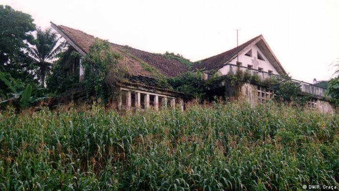 São Tomé e Príncipe Gebäude der Roça Porto Real