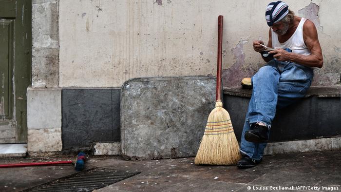 Symbolbild Griechenland Wirtschaft Finanzkrise