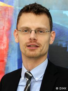 Porträt Dr. Ilja Nothnagel (DIHK)