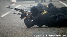Russland Spezialpolizei Omon in Stawropol