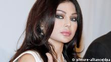 Haifa Wehbe Libanon PK Pressekonferenz