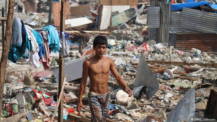 Slum in Tacloban