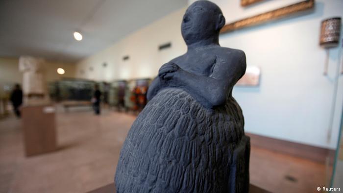Irak Bagdad Museum Statue von Dudu