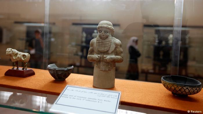Irak Bagdad Museum Statuette
