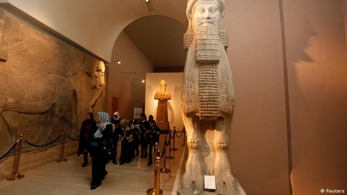 Irak Bagdad Museum Ausstellung