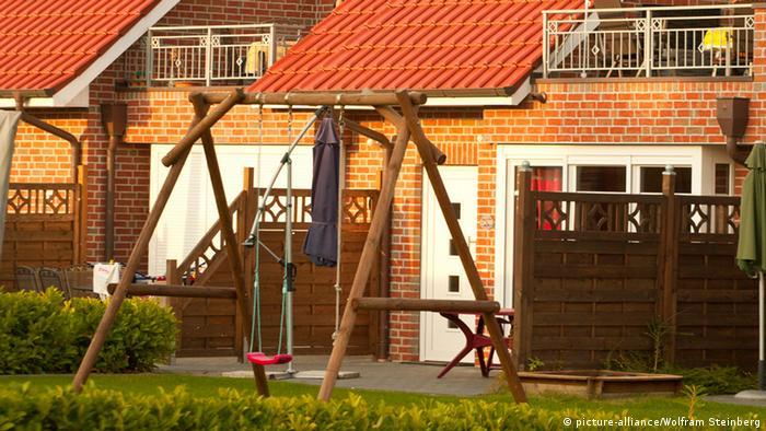 Типичный немецкий жилой дом