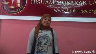 Hend Nafea Badawy vom Anwaltszentrum Hisham Mubarak in Kairo (Foto: M. Symank)