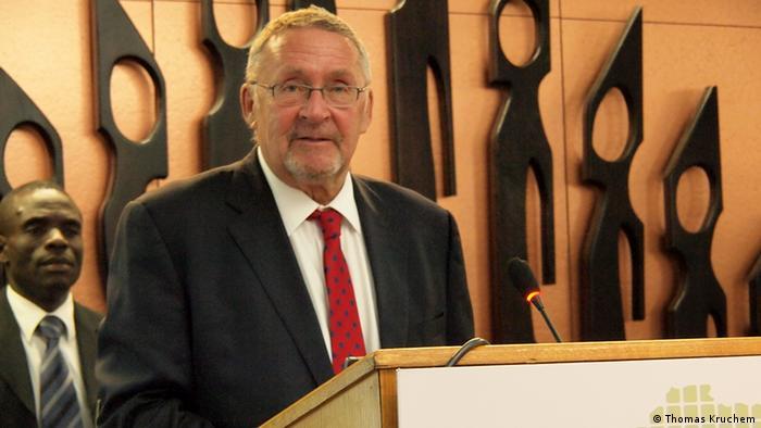 Zambian interim president Guy Scott
