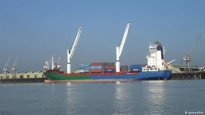 Bangladesch Chittagong Hafen 2007 (gemeinfrei)