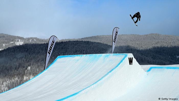 Snowboard Shaun White Olympiasieger