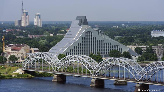 Neue Nationalbibliothek Riga Copyright: imago/imagebroker