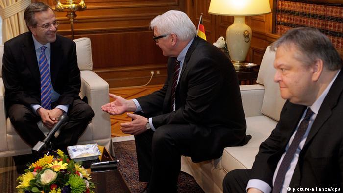 Frank-Walter Steinmeier besucht Athen