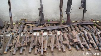 Alte Waffen von RENAMO