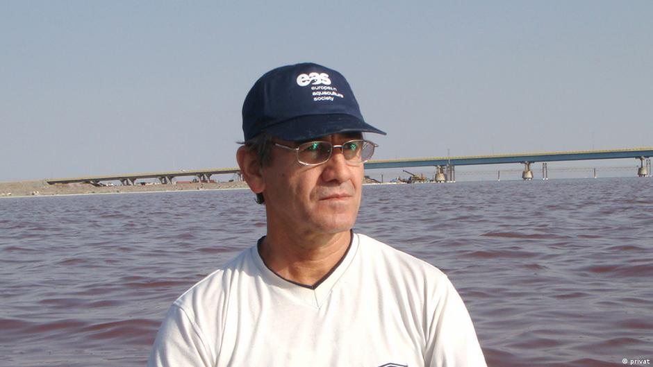 Naser Agh Umweltexperte aus Iran