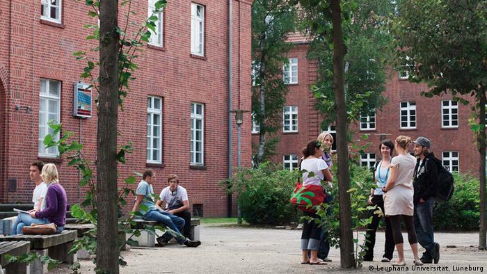 Люнебургский университет - Leuphana Univetsität Lüneburg