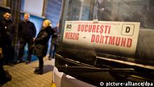 Buslinie Bukarest-Dortmund 04.01.2014