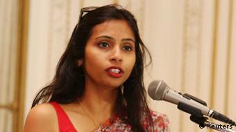 Devyani Khobragade Diplomatin aus Indien Archiv 19.06.2013
