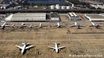 An aerial picture of Don Mueang International Airport in Bangkok, Thailand (Photo: EPA/MAST IRHAM)