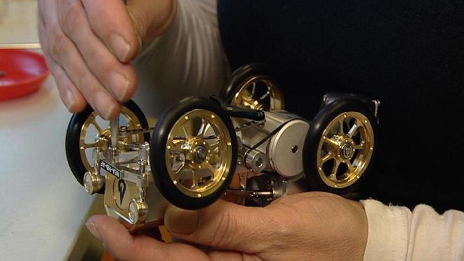 Spielzeug für große edle miniaturen mit stirlingmotoren
