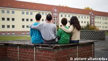 Symbolbild syrische Asylbewerber in Deutschland