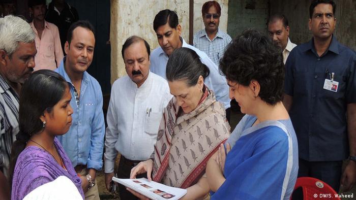 Bildergalerie Priyanka Gandhi (DW/S. Waheed)