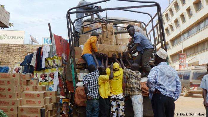 Südsudan Flüchtlinge an der Grenze zu Uganda