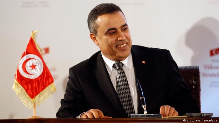 Tunisian interim Prime Minister Mehdi Jomaa