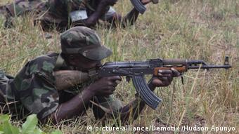 Uganda Militär