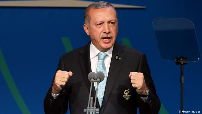 Prime Minister Recep Tayyip Erdogan's government