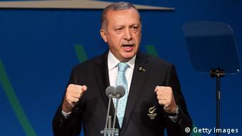 Recep Tayyip Erdogan (Photo by Ian Walton/Getty Images)