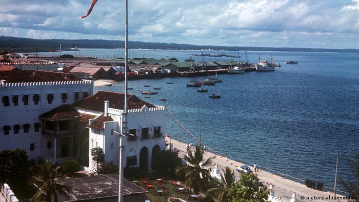 Пристанището на Занзибар
