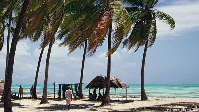 Гледка от остров Занзибар