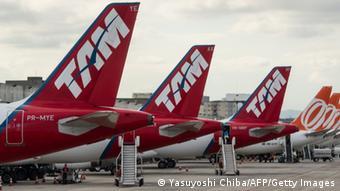 Fusion von Fluggesellschaften LAN und TAM in Lateinamerika