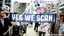 Yes we scan Plakat