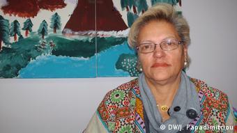 Maria Kefalas-Salmatani, member of the city council in Kifissia (Foto: DW/ J. Papadimitriou)