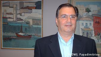 Pantelis Xyridakis, mayor of Psychikon (Foto: DW/ J. Papadimitriou)