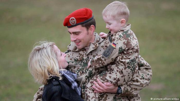Bundeswehr / Familie / Soldat