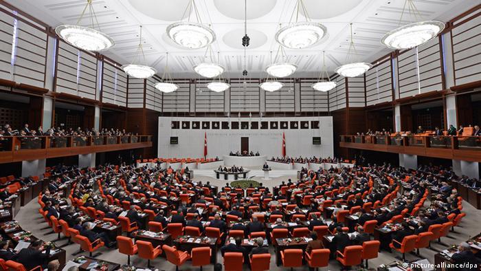 Parlament in Ankara Türkei