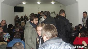 Відкриття форуму у приміщенні однієї з церков