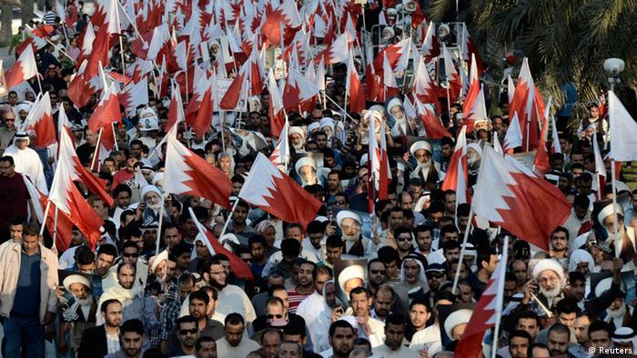 Opposition protests in Bahrain