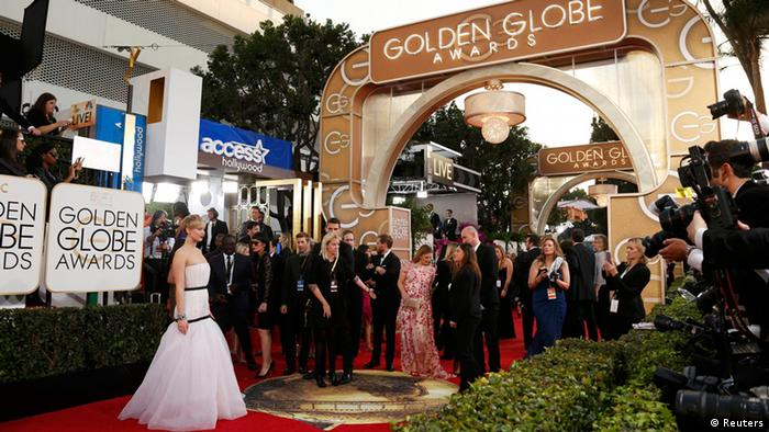 Bildergalerie Golden Globe Awards 2014 Roter Teppich Jennifer Lawrence