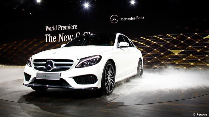 Detroit Motor Show Mercedes Benz