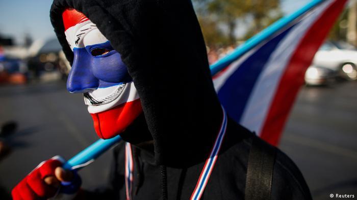 Thailand Anti Regierung Protest Demonstranten (Reuters)