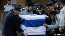 Ariel Sharon Beisetzung Trauerfeier Knesset Jerusalem