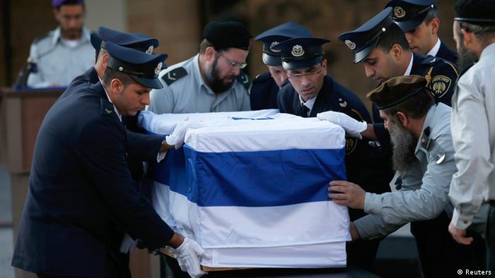 Похороны Ариэля Шарона