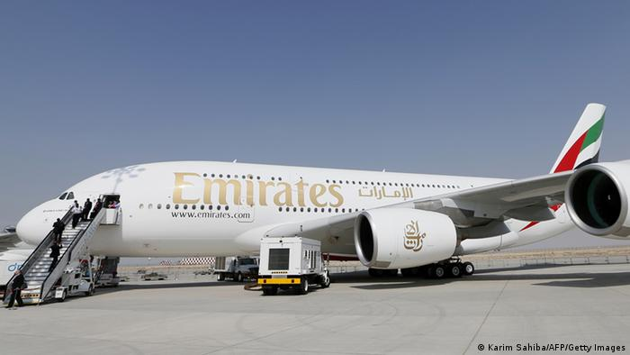 Airbus A380-800 für Emirates Airlines (Karim Sahiba/AFP/Getty Images)