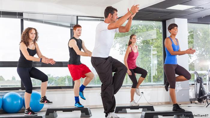 Symbolbild Fitnessstudio