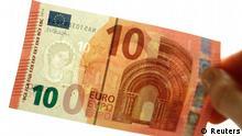 10-Euro-Banknote 13.01.2014 in Wien